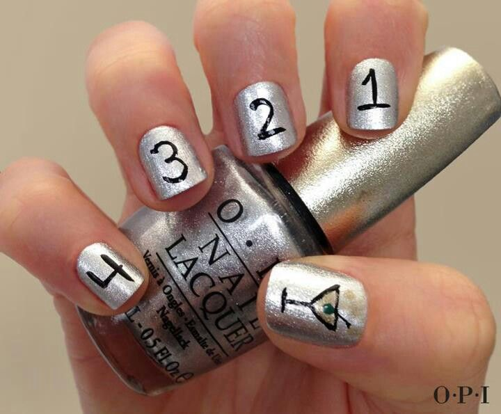Best 25+ New year's nails ideas on Pinterest | New years nail art, New  years nail designs and New years eve nails - Best 25+ New Year's Nails Ideas On Pinterest New Years Nail Art