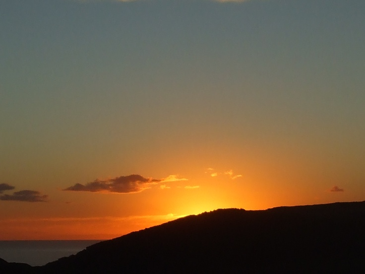 Sunset: Awhitu Peninsula, NZ