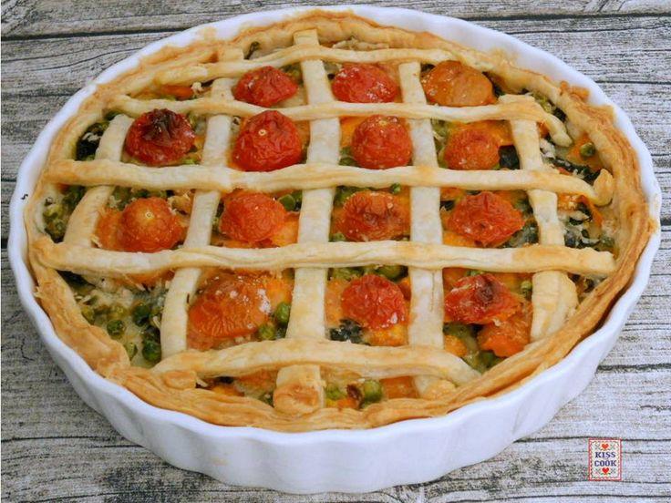 Crostata con le verdure