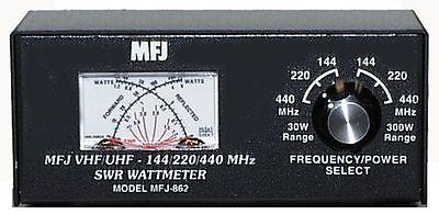 Other Ham Radio Equipment: Mfj-862 Swr Meter, 144 220 440Mhz, 30 300W -> BUY IT NOW ONLY: $65.75 on eBay!