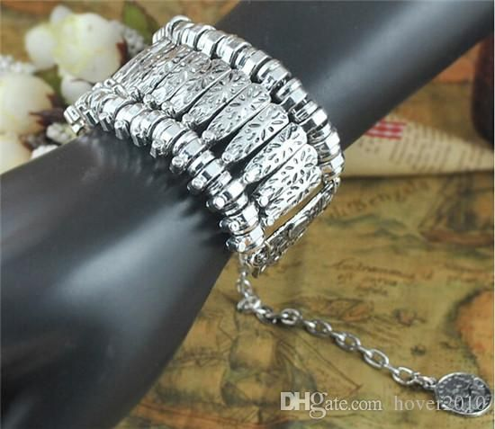 Купить оптом богемный винтаж серебряные браслеты ювелирные изделия металла посеребренная резьба ретро монеты, браслеты для женщин платья аксессуары в категории браслет по цене $5.02 на Ru.dhgate.com
