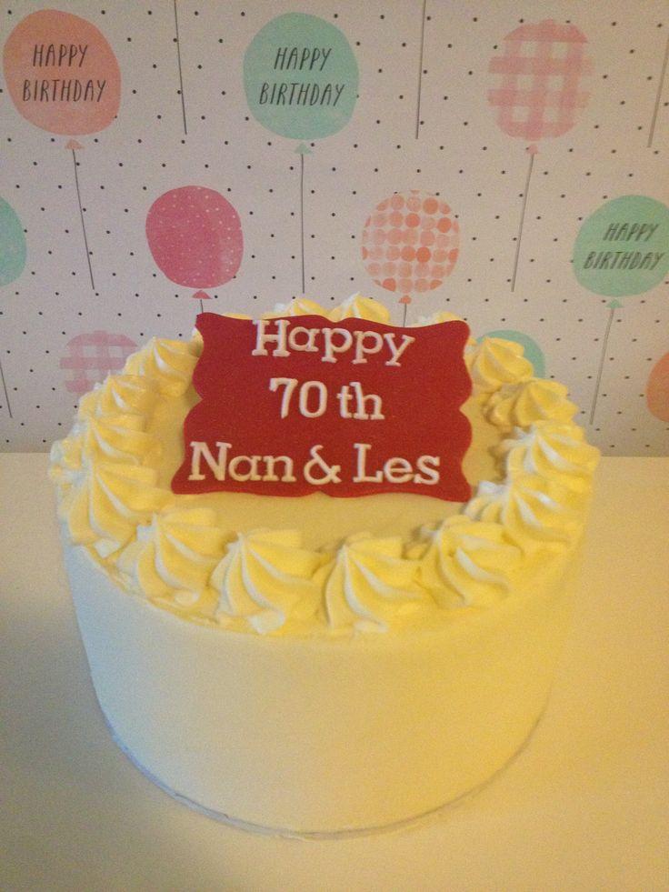 Birthday cake crumbsbakery.com.au