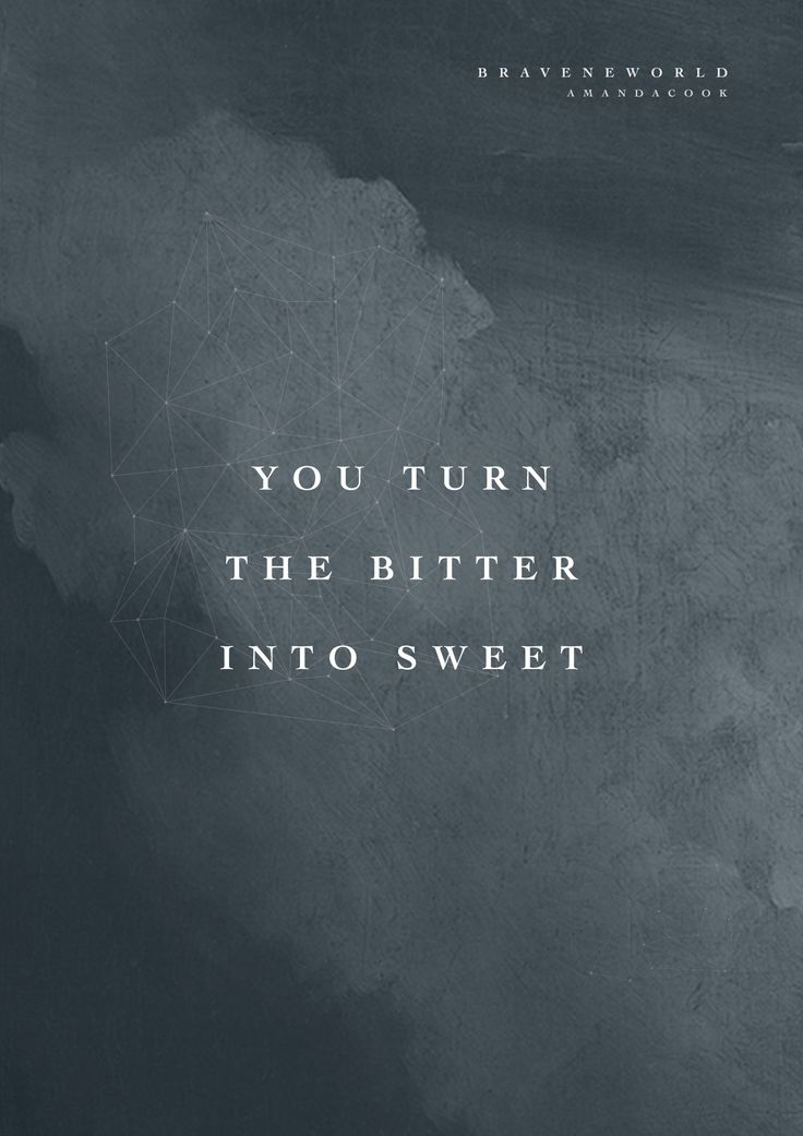 """""""He turns the winter into spring, it's happened before, it will happen again. This is who He is."""" // Read this devotional inspired by """"Bitter/Sweet,"""" a new song by Amanda Cook from #BraveNewWorld: http://www.bethelmusic.com/blog/bitter-sweet/"""