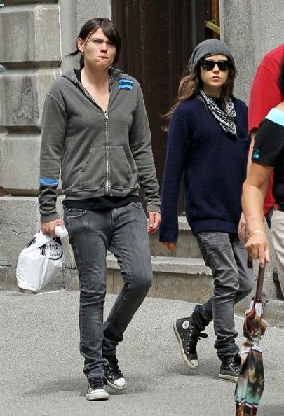 ellen page clea duvall | Ellen Page and Clea DuVall Out and About (Clea DuVall)