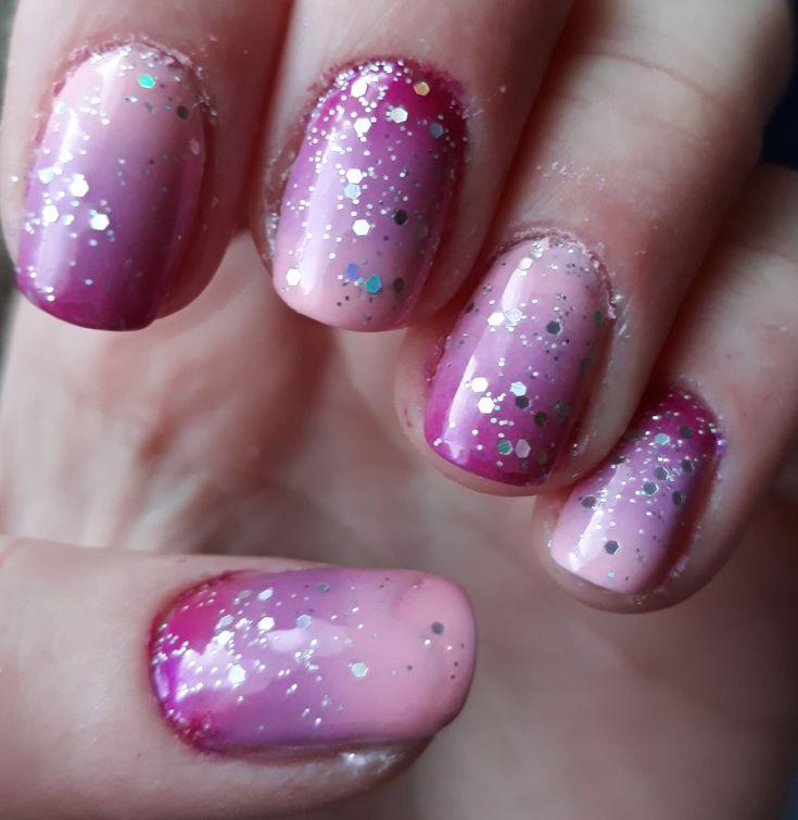 New years eve nail art.