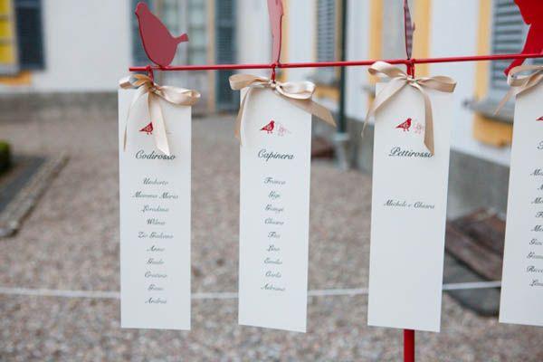 150 uccellini rosa per un matrimonio ispirato alla natura: Chiara e Michele
