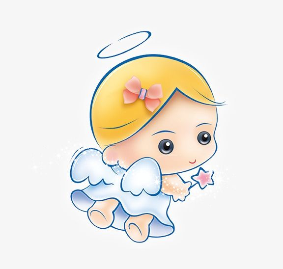 Angel baby. Clipart png transparent image