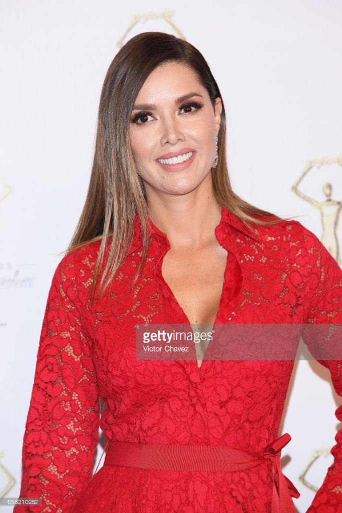 Marlene Favela attends Premios Tv y Novelas 2017 at Televisa San Angel on March 26, 2017 in Mexico City, Mexico.