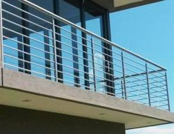 Steel image make custom stainless steel  balustrades and stainless steel staircases and integrate glass and wood into their designs