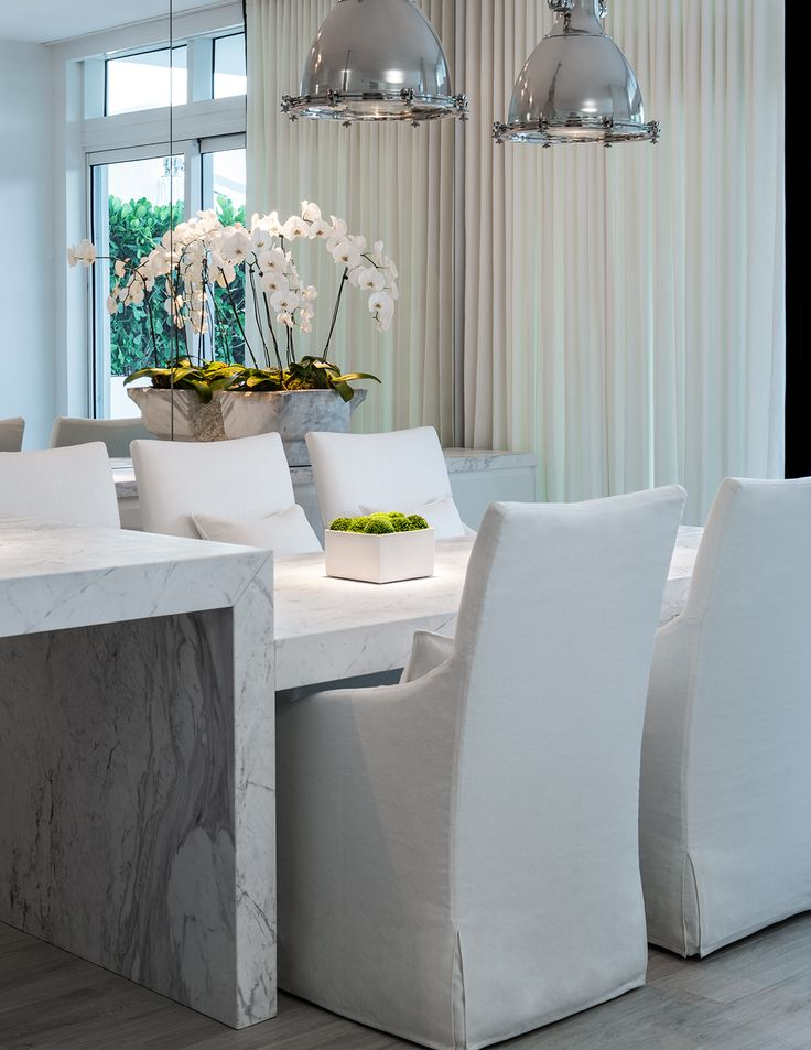 #chic #homedecor - touch of color South Beach Townhouse | Michael Dawkins Home