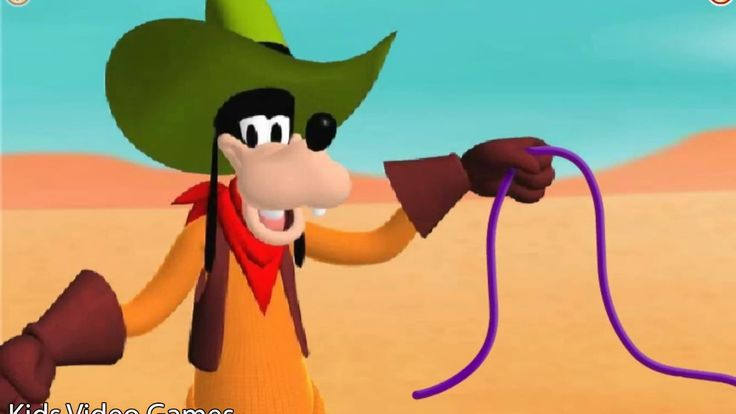Mickey Mouse Clubhouse - Goofy's Wildshoe Round-up - Video for Kids