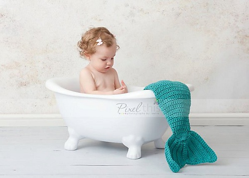 So a cool idea for a photo- also super cute on baby (maybe a soaker sack version for newborn?)
