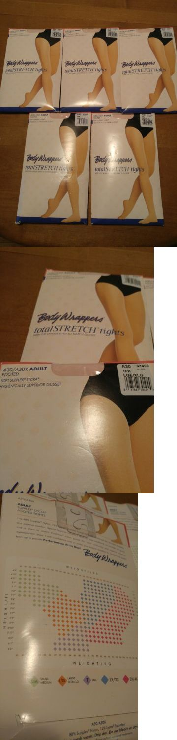 Leggings and Tights 152364: Body Wrappers Women Dance A30 Theatrical Pink Footed Nylon Tights Large Xl -> BUY IT NOW ONLY: $58.79 on eBay!