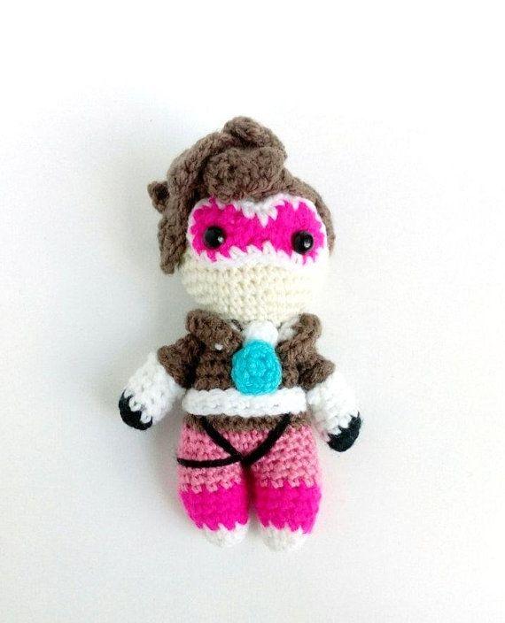 D.Va Bunny Amigurumi (Overwatch) - free crochet pattern by loopit ... | 704x570
