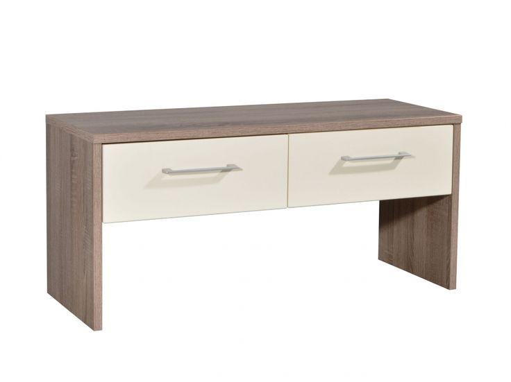 REVY Bänk Ek/Gräddvit i gruppen Inomhus / Förvaring / Hallmöbler hos Furniturebox (100-55-70388)