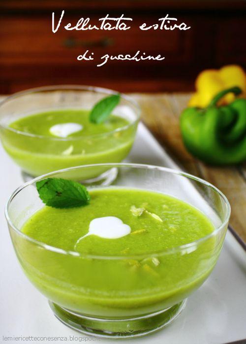 ズッキーニのクリーミースープのレシピ