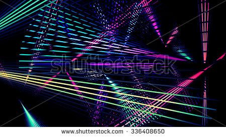 Laser Lights Background