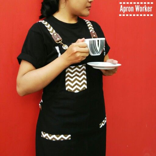 Because creativity takes courage, happy weekend. More pictures check out our account instagram @apron_worker