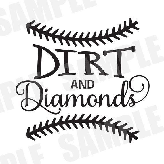 svg commercialpersonal use baseball softball dirt and diamonds silhouette cameo baseball team shirt ideasbaseball - Baseball Shirt Design Ideas