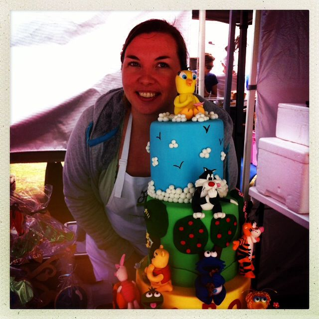 This is an amazing cake by Fiona Fancies...what kid wouldn't love this!