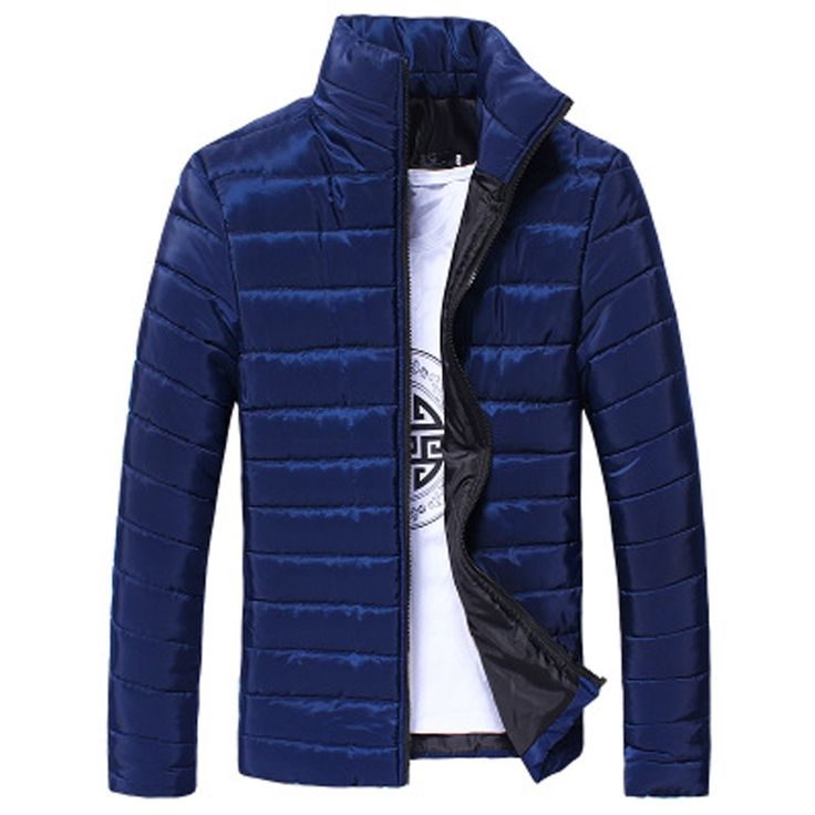 (31.32$)  Watch now - http://aijfy.worlditems.win/all/product.php?id=32790829269 - Brand 2016 Mandarin Collar coats fashion winter jacket men Warm napapijri Casual Thick jackets cotton Male Parkas coat