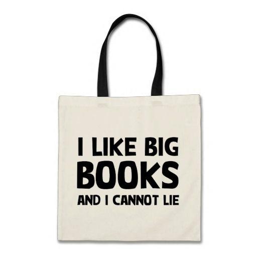 Shop I Like Big Books Tote Bag Created By LabelMeHappy