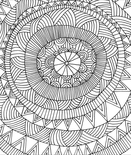 27 best coloring pages images on pinterest | coloring books ... - Coloring Pages Patterns Geometric