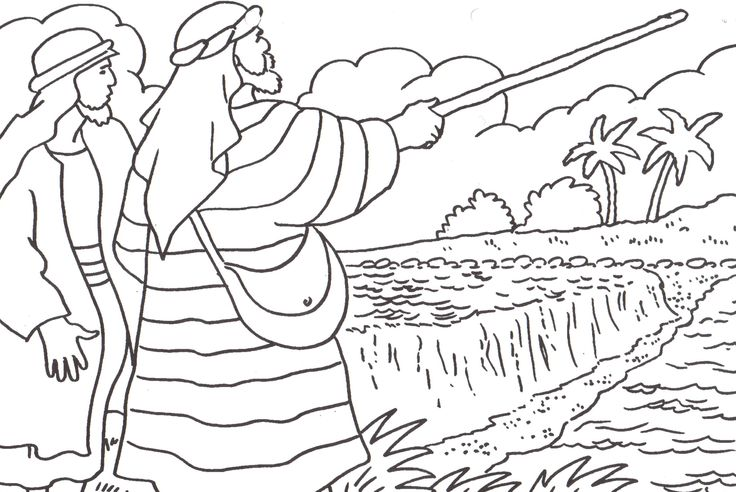 beshalach coloring pages - photo#9