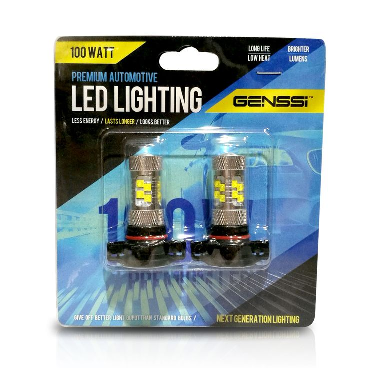 5202 LED car fog lamp bulbs for American Vehicles. Direct replacement for the fog lamps.