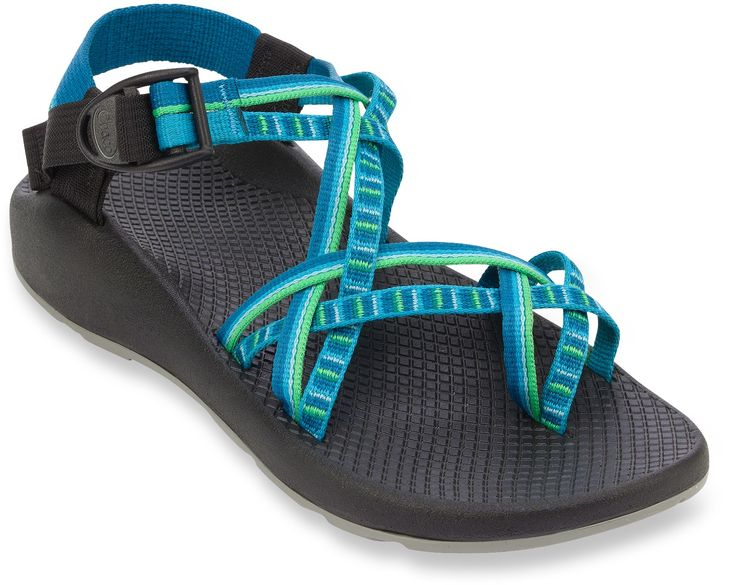 Chaco Shoes Womens Pink And Green