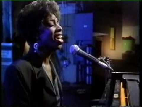 Sublime performance of (Brenda Russell's) 'Get Here' by Oleta Adams with Courtney Pine on soprano sax from 1991 BBC Later programme. Incredibly, this was the first time that they had ever performed together!