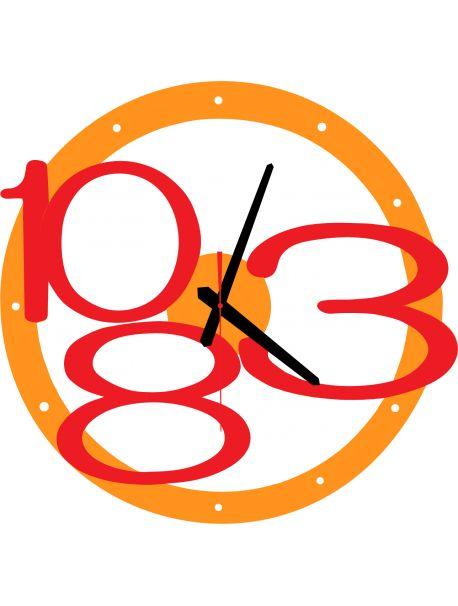 3D nástenné hodiny Exclusive, farba:oranžova,červené čísla Kód:  X00013-RAL2004-RAL3000 Stav:  Nový produkt  Dostupnosť:  Skladom  Prišiel čas na zmenu ! Dekoračné hodinky oživia každý interiér, zvýraznia šarm a štýl Vášho priestoru . Zútulni si svoje bývanie s novými hodinami. Nástenné hodiny z plexiskla sú nádhernou dekoráciou Vášho interiéru.