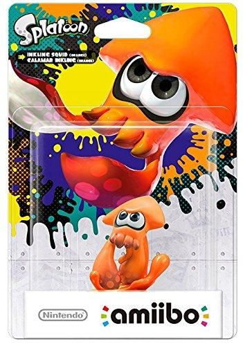 "Amiibo Calamar "" Squid "" Inkling Orange Splatoon - WII U - Acheter vendre sur Référence Gaming"