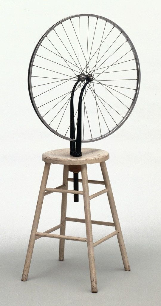 Marcel Duchamp. Bicycle Wheel. New York, 1951 (third version, after lost…