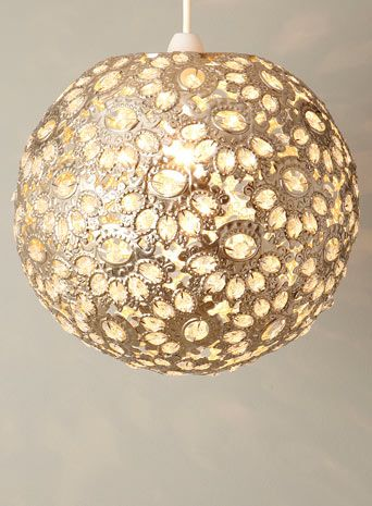 Ornate Champagne Ball Easyfit Pendant