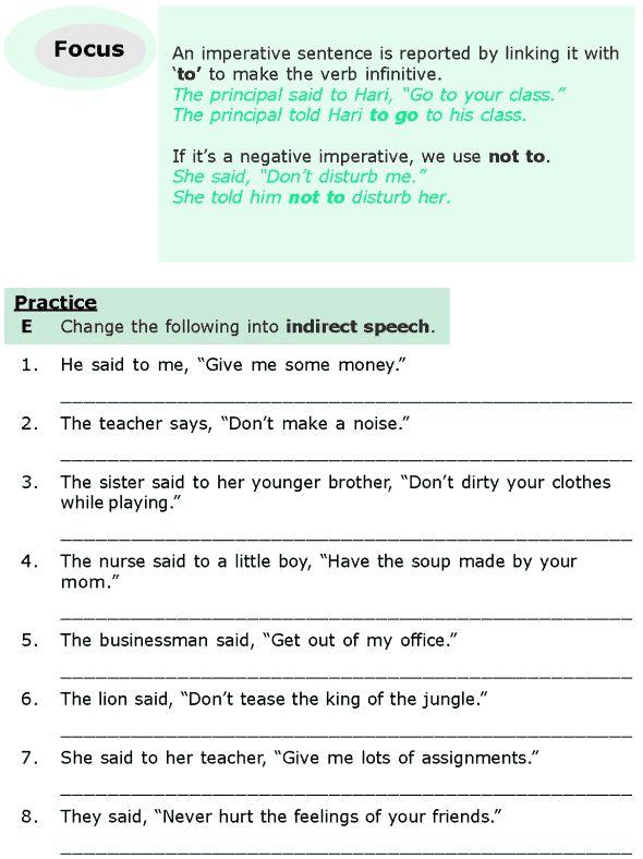 les verbes introducteurs exercices pdf
