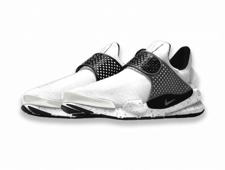 Nike Sock Dart White Oreo.