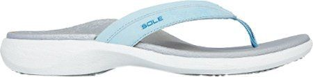 SOLE Women's Sport Flip Flip Flop sandal,10 B(M) US,Drift >>> To view further for this item, visit the image link.