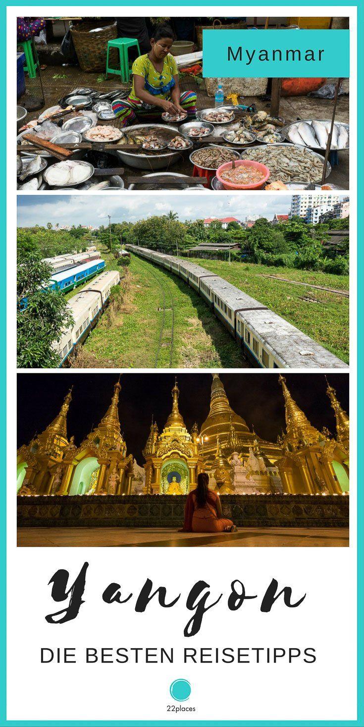 Yangon ist die heimliche Hauptstadt von Myanmar und gehört bei jeder Reise zum Pflichtprogramm. Wir zeigen dir die schönsten Sehenswürdigkeiten in Yangon und die besten Tipps für Myanmars größte Stadt.