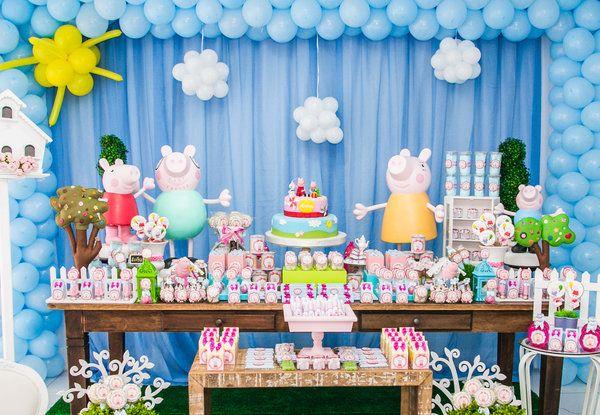Festa infantil Peppa Pig - Bebê.com.br