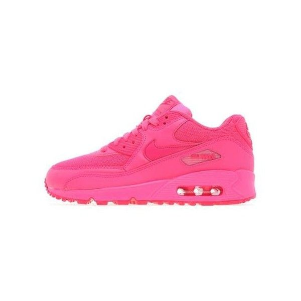 Nike Air Max 90 Junior ($87) ❤ liked on Polyvore featuring shoes, sneakers, nike, air max, nike sneakers, nike footwear, nike trainers and nike shoes