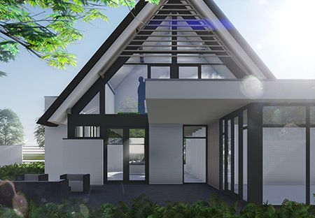 Villa T4 - interior | architecture | totaal concepten | interieur | tuinplan - Marco van Veldhuizen