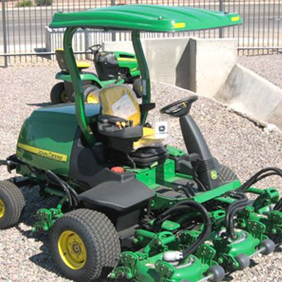 "Fiberglass Canopy Kit for John Deere 8000E Hybrid Fairway & 1600T WAM Mower with Forward Leaning 3"" x 2"" ROPS"