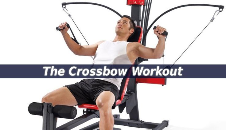 The Crossbow Workout station is perfect for all types of exercises. By using it you can strengthen all your muscle groups. Use it as often as possible.
