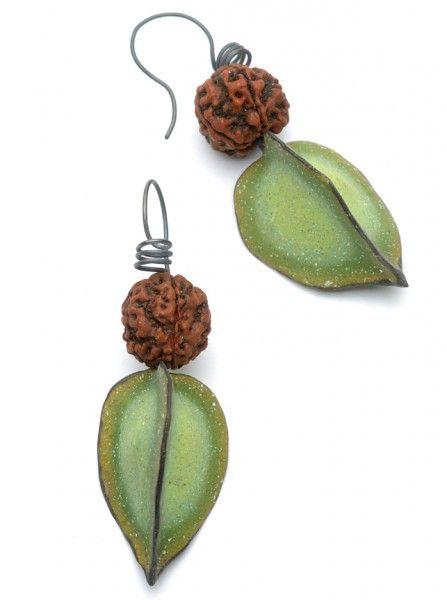 Seed & Pod Earrings - Spring