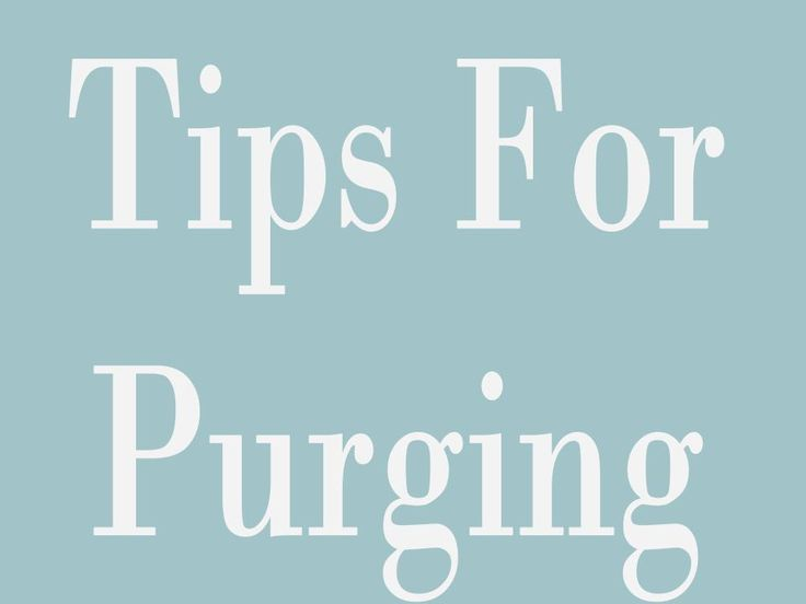 """I am in pursuit of a simple, joyful life. And lately, this is achieved through purging.... Who knew there could be so much magic in the word """"purge""""?! I wrote this post on Friday about how purging ..."""