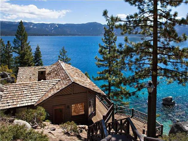 Summertide, the Crystal Bay, Nevada retreat on Lake Tahoe, once owned by Howard Hughes...