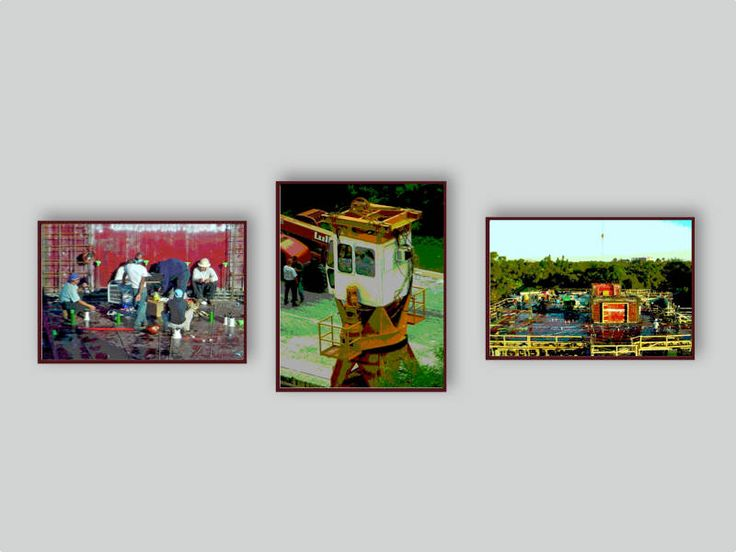 GIFT FOR MEN. Special Price. Free Shipping. 3 Piece Wall Grouping of Construction Images. Office Art. Fine Art Photography. Metallic Finish. by VintageArtForLiving on Etsy https://www.etsy.com/listing/270782980/gift-for-men-special-price-free-shipping