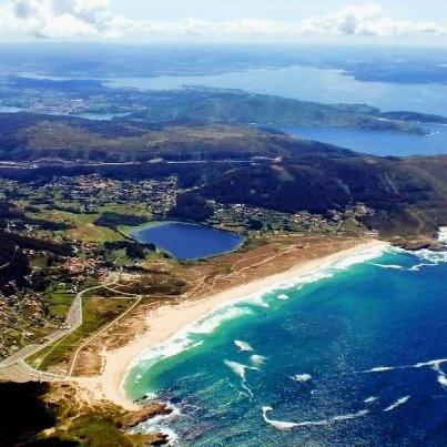 Praia de Doniños en Ferrol (A Coruña)