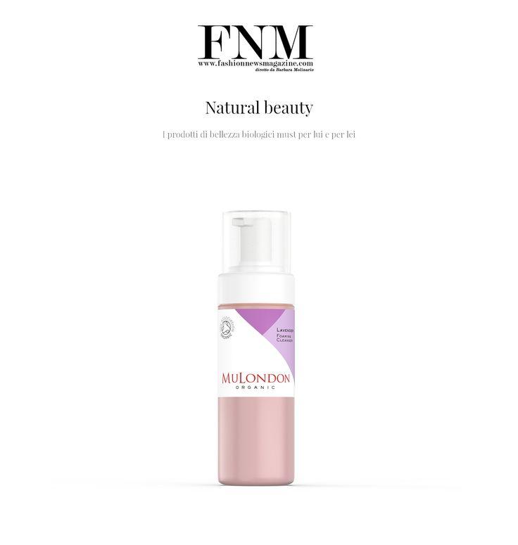 "Ciao, Italia! MuLondon is in Fashion News Magazine, ""Natural beauty: I prodotti di bellezza biologici must per lui e per lei"" (Must-have organic beauty products for him and her)  Read more: http://www.fashionnewsmagazine.com/web/2017/05/01/natural-beauty/  Get MuLondon products from www.MuLondon.com  #MuLondon #lavender #cleanser #organic #vegan #crueltyfree #eco #ecobio"